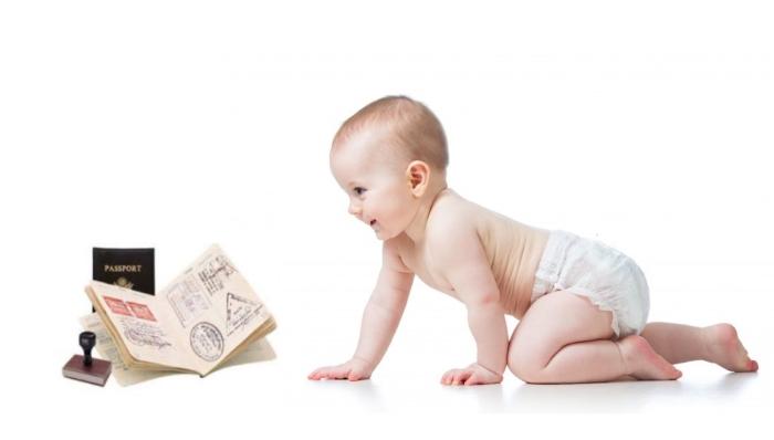 Как вписать ребенка в загранпаспорт?