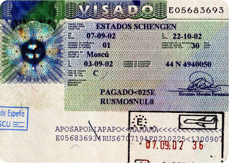 Бизнес виза в испанию