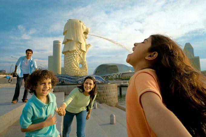 Поездка с детьми в Сингапур