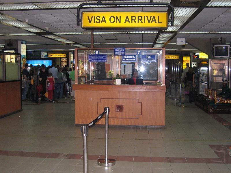 Виза в аэропорту Ливана
