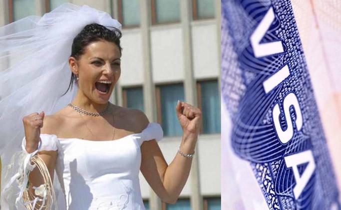 Как получить визу невесты