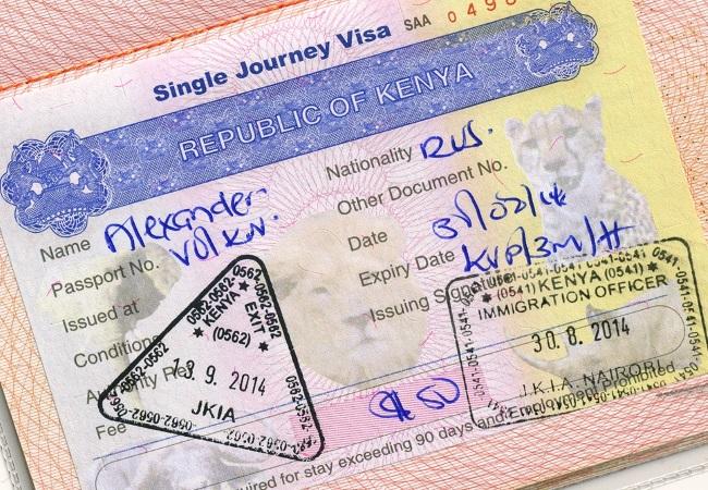 Получение визы в Кению