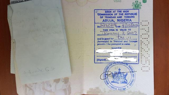 Открытая виза в Тринидад и Тобаго