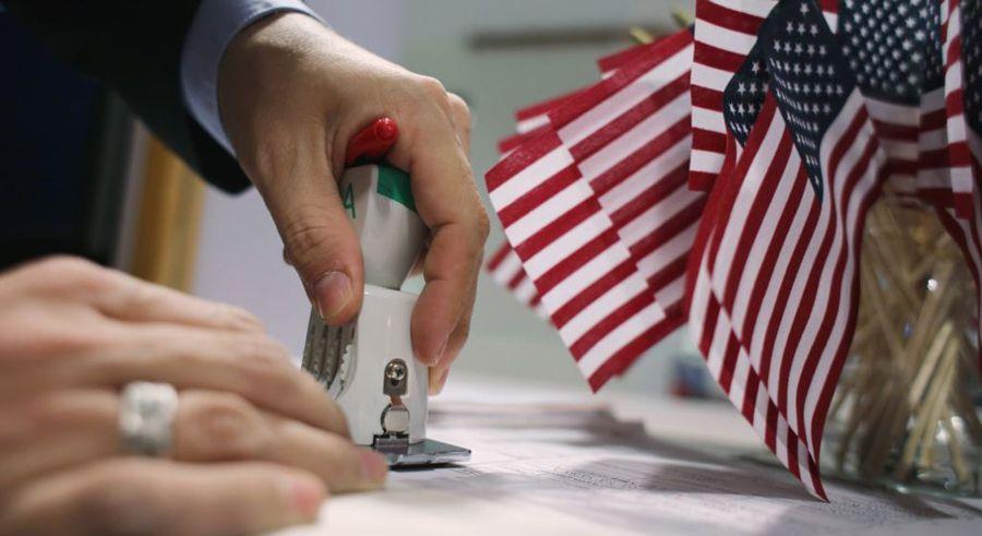 Как повторно получить визу в США