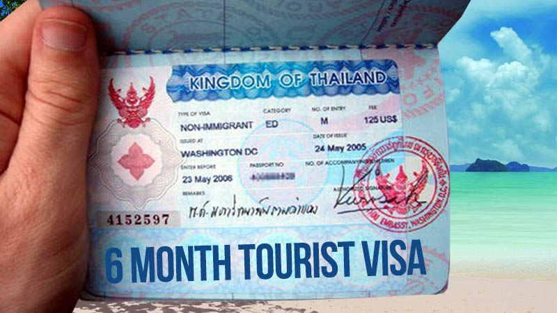 Как выглядит виза в Таиланд