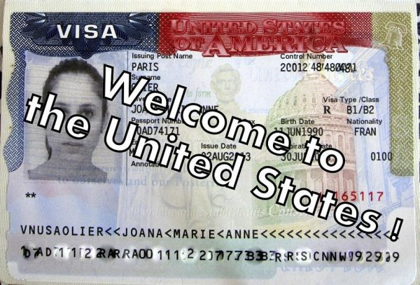 Деловая виза в Америку