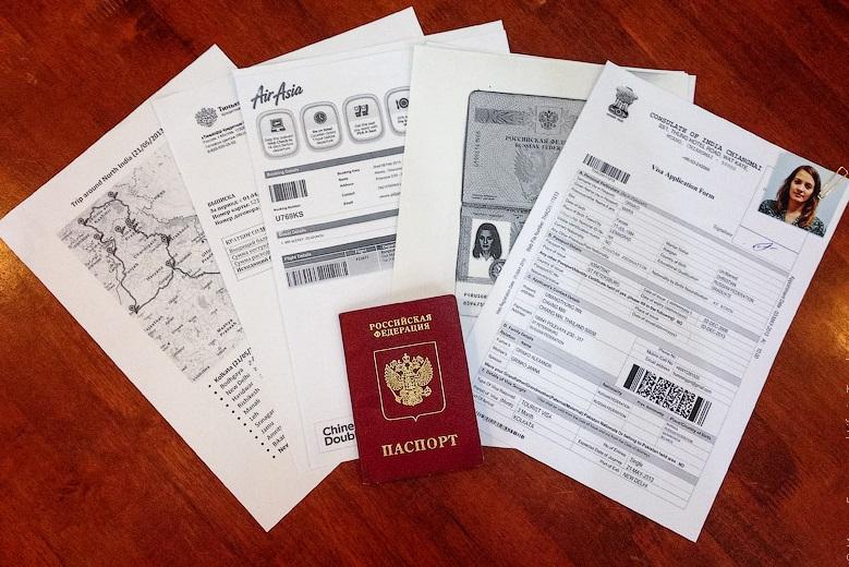 Документы для визы США