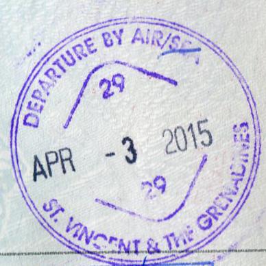 Сент-Винсент и Гренадины, разрешение на въезд