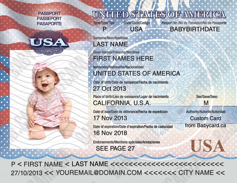 Разрешение на гостевой въезд в США детям