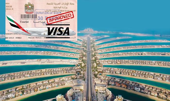 Как выглядит виза в ОАЭ, сроки ее оформления