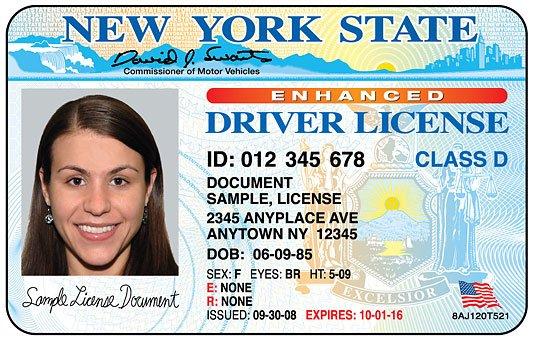 License Class E - права в США