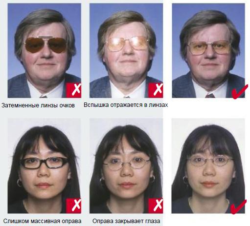Требования к фото на визу США
