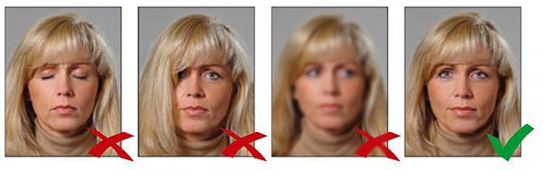 sРекомендации для фото на визу