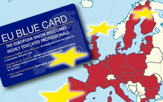 Голубая карта ЕС - как ее получить