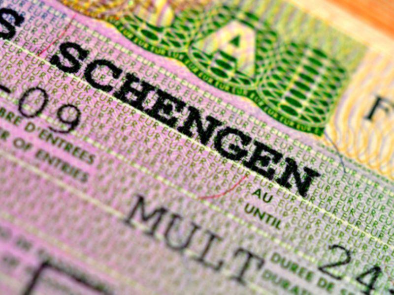 Как выглядит шенгенская мультивиза