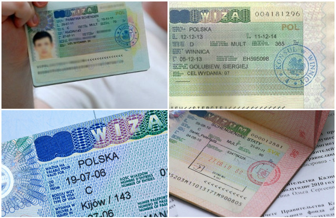Типы шенгенских виз для граждан РФ