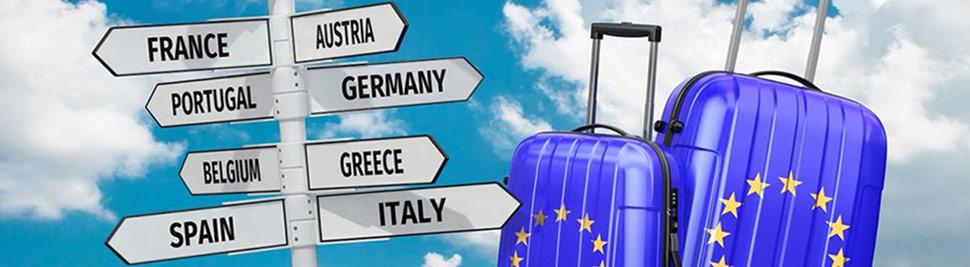 Как путешествовать по Европе - виды Шенгенов