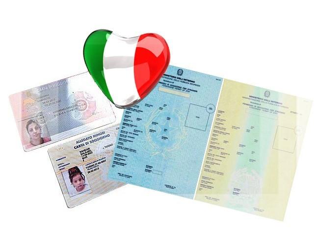 Виды на жительство в Италии