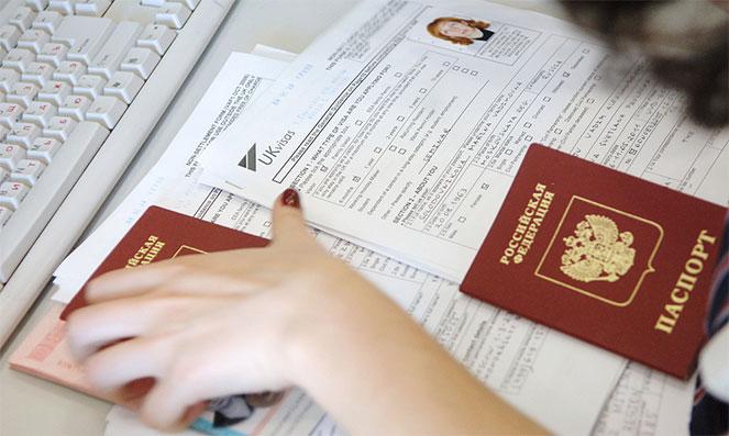 Список документов для открытия визы