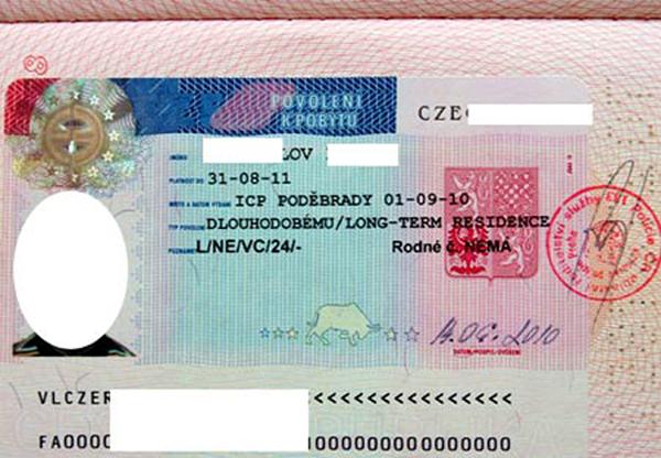 Процедура получения рабочей визы в Чехию