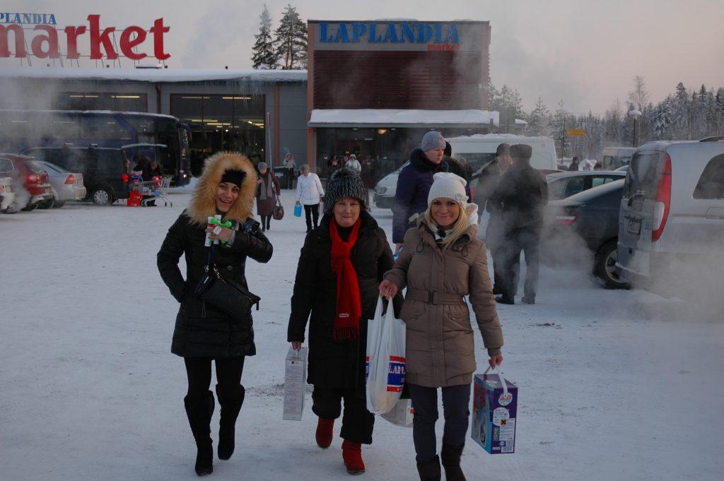 Поездка в Финляндию за покупками