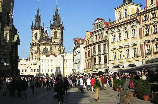 По какой визе попасть в Прагу