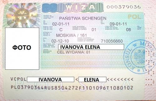 Открываем визу в Польшу