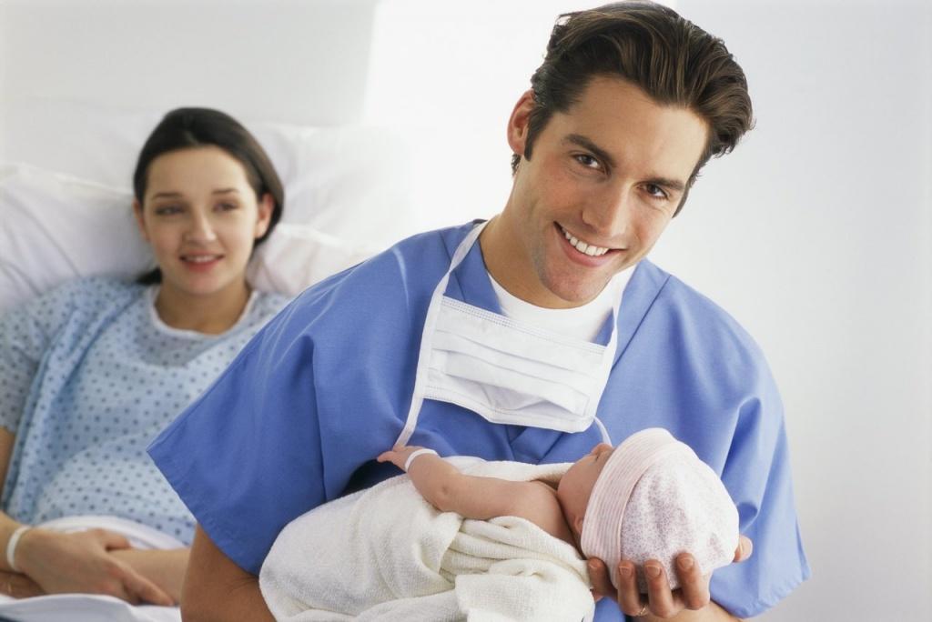 доктор и новорожденный