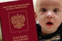 Заполняем анкету на загранпаспорт для детей до 14 лет