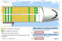 Что нужно учитывать при бронировании места в самолете по билету