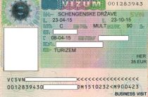 Правила оформления визы в Словению