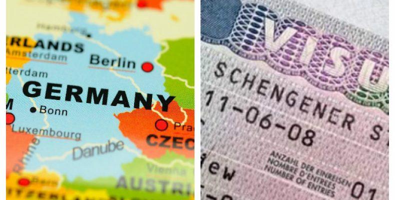 Процедура оформления документов на визу в Германию