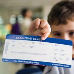 Заграничный паспорт старого образца для детей до 14 лет